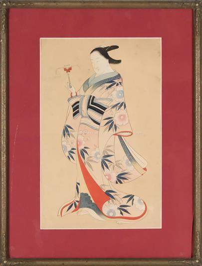 Harunobu Suzuki - Gejša