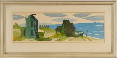 Karel Oberthor - Stará rybářská vesnice
