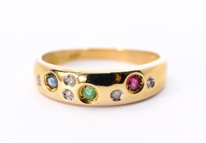 .. - Prsten, zlato 333/1000, hrubá hmotnost 2,03 g