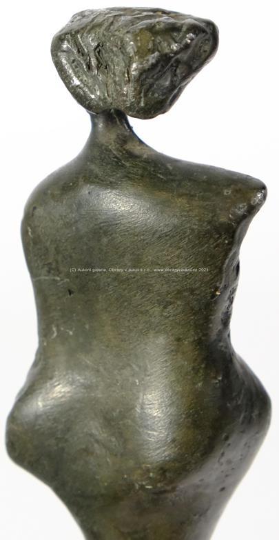 český sochař 20. stol. - Silueta