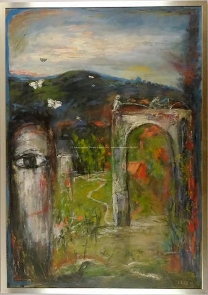 Josef Jíra - Na hřbitově