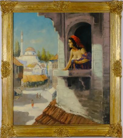 Josef M. Černovický - Motiv z Mostaru