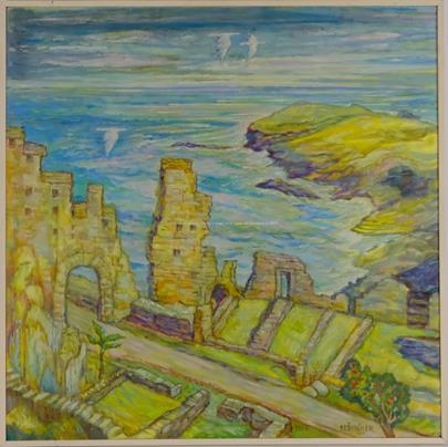 Jaromír Skřivánek - Ruiny zámku krále Artuše