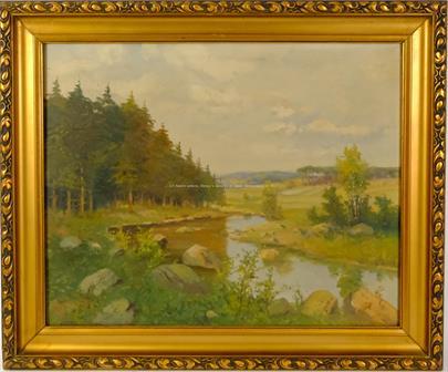 R. Miňovský - Říčka na kraji lesa