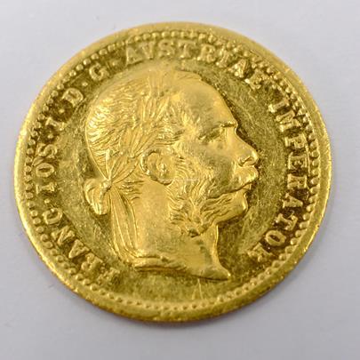 .. - Rakousko Uhersko zlatý 1 dukát 1902. Zlato 986/1000, hrubá hmotnost mince 3,491g