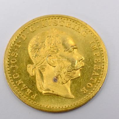 .. - Rakousko Uhersko zlatý 1 dukát 1904.  Zlato 986/1000, hrubá hmotnost mince 3,491g