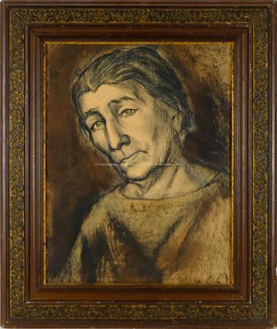 Alén Diviš - okruh - Portrét ženy