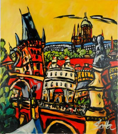 Drahoslav Šolta - Pražské panorama