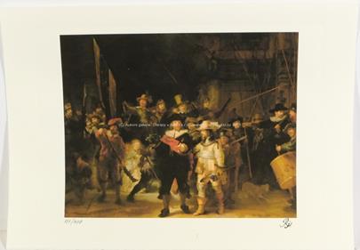 Rembrandt van Rijn - Noční hlídka