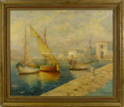 Karel Polabský - V přístavu
