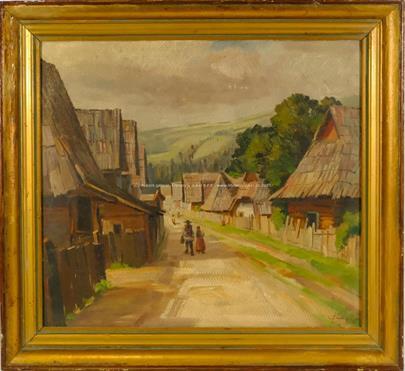 Čada - Podhorská vesnička