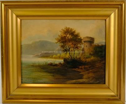 Vilém Ströminger - Pevnost u jezera