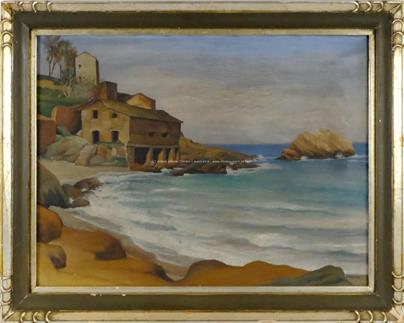 Vilém Kafka - Opuštěný mlýn na Korsice
