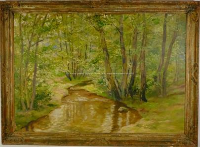 Josef Hurt - Lesní potok