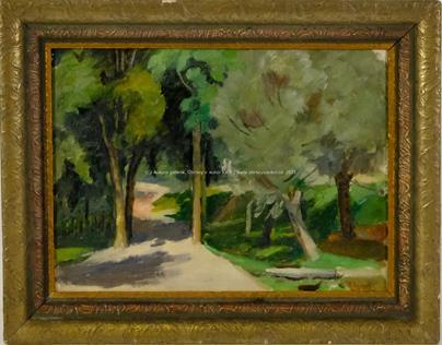 Rudolf Vejrych - Lesní cesta