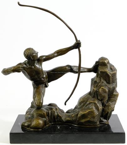 Emil Antoine Bourdelle  - Herakles napínající luk