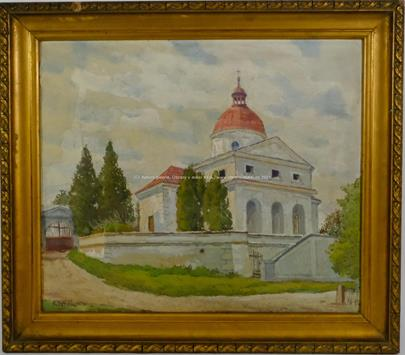 Karel Votlučka - U kostela