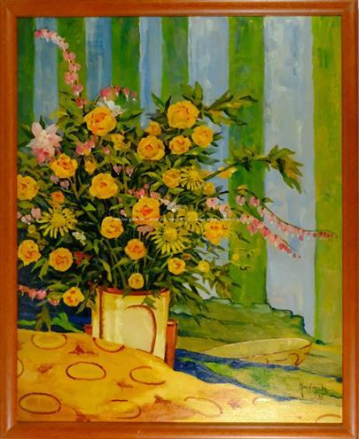 Hartnick - Žlutá kytice ve váze