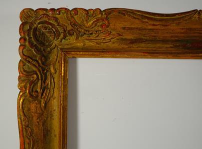 .. - Dřevěný řezaný rám