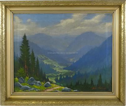 Josef Ptáček - Výhled v horách