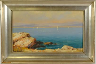 Josef M. Černovický - Mořské pobřeží
