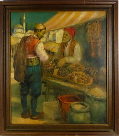 Josef M. Černovický - Trh v Orientu
