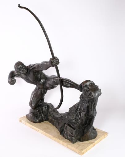 Emil Antoine Bourdelle  - Herakles s lukem