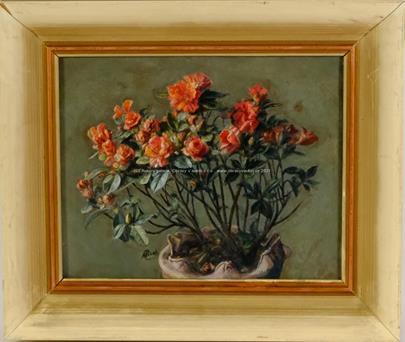 Antonín Picek - Červené květiny