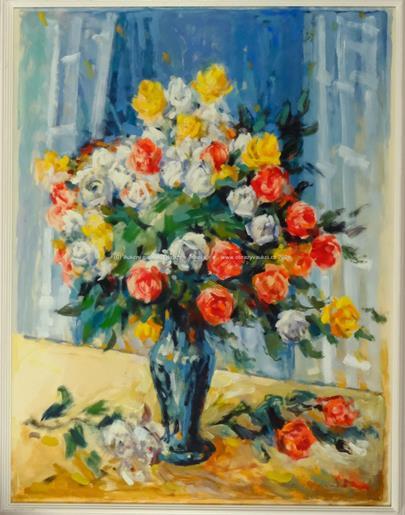 Pavel František Dvořák - Kytice růží