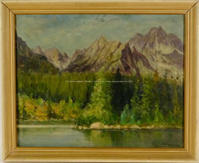 Emanuel Hosperger - Jezero pod horami