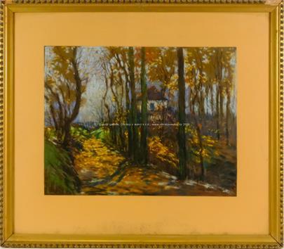 Jaroslav  Šimůnek - Podzim na venkově