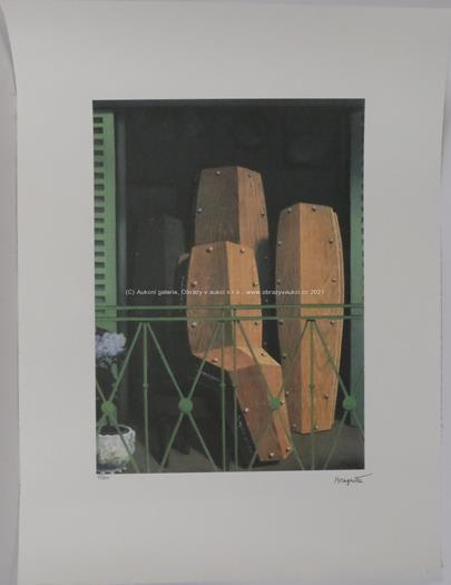 René Magritte - Zátiší s rakvemi