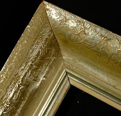 .. - Dřevěný stříbrný rám