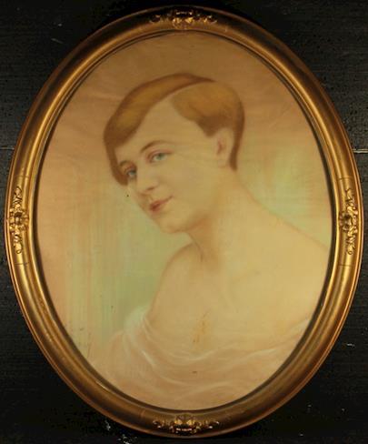 Vincenc Živný - Portrét mladé ženy