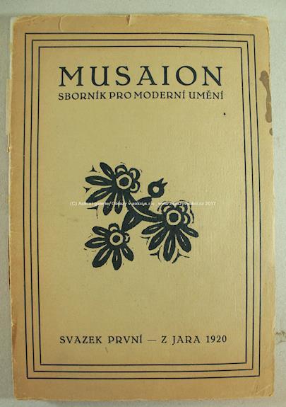 Karel Čapek - Musaion (Sborník pro moderní umění)