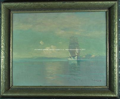 Aleksei Vasiljevič Hanzen - Loď na moři