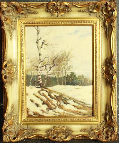 Josef Jambor - V zimní krajině
