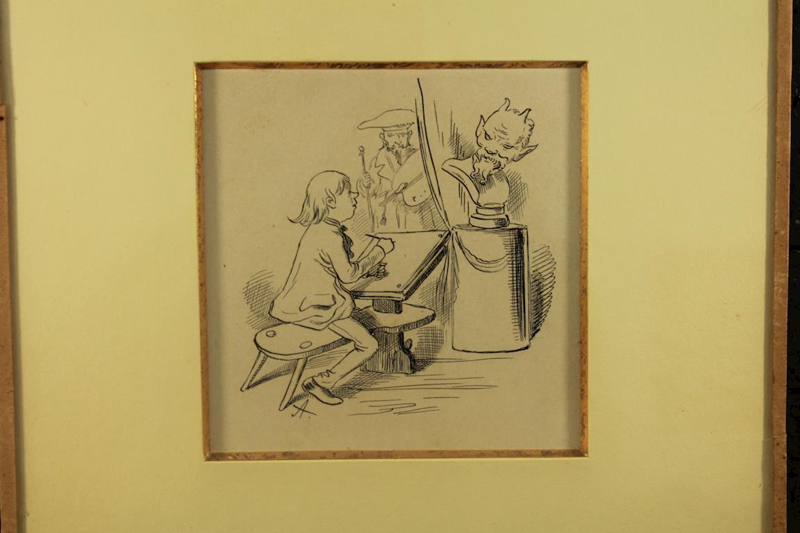 Obrazy V Aukci Konvolut Kreseb Mikolase Alse